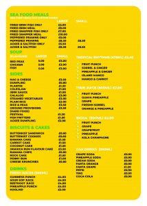 New Menu for Taste of Jamaica